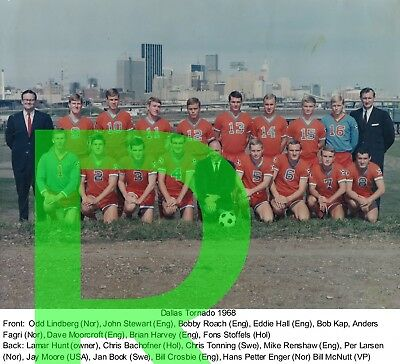 1968 DALLAS TORNADO NASL REPRINT NPSL Team  Photo