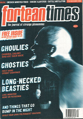 FORTEAN TIMES UK MAGAZINE issue 92 nov 1996