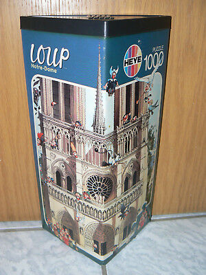 Notre Dame Loup Puzzle 1000 Teile Heye