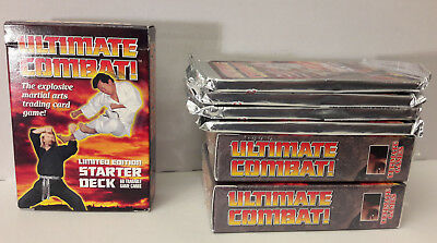 Ultimate Combat -> Limited Edition 2+1 Starter Deck + 4 Booster