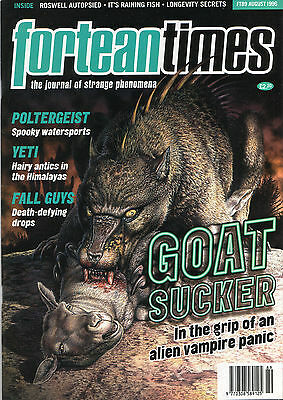 FORTEAN TIMES UK MAGAZINE issue 89 Aug 1996