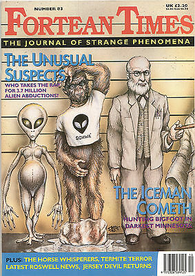 FORTEAN TIMES UK MAGAZINE issue 83 Oct 1995