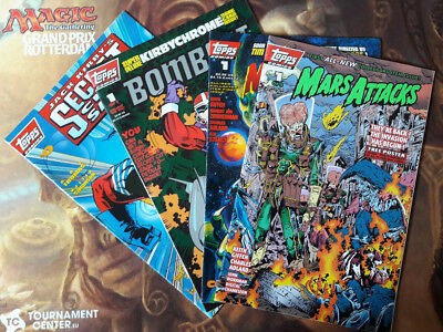 Topps Comics: Mars Attacks, Bombast,  Jack Kirbys Secret City Saga
