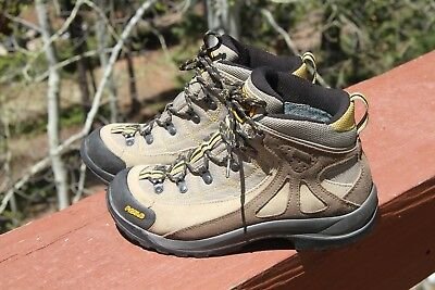 Asolo Fusion 70 GTX Trail Hiking Gortex Boots Womens Size 8 - nice