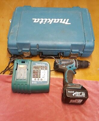 Makita DHP456 Battery drill and charger  spears or repair