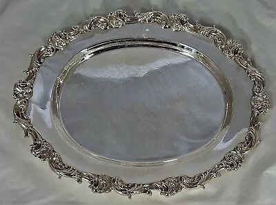 Birks Sterling Silver Meat Platter - 955 grams