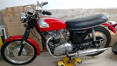 1969 Triumph Trophy  vintage triumph motorcycle for sale