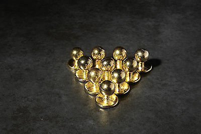 Gold chef buttons jacket brand new set of 10 cheap buy it now