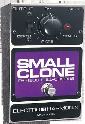 NEW Electro Harmonix Small Clone Classic Analog Chorus Guitar Pedal w/ Battery