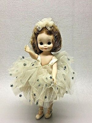 """Vintage Betsy McCall doll Ballerina outfit stars 6"""" tall American Character"""