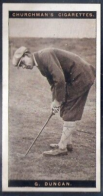 Churchman-Famous Golfers Golf-#10- George Duncan