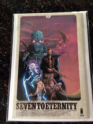 Seven to Eternity #1 (Sep 2016, Image) High Grade NM