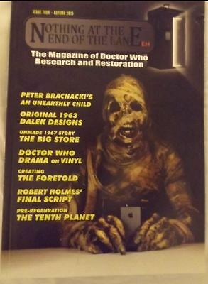 Doctor  Who Very rare nothing end lane magazine 4