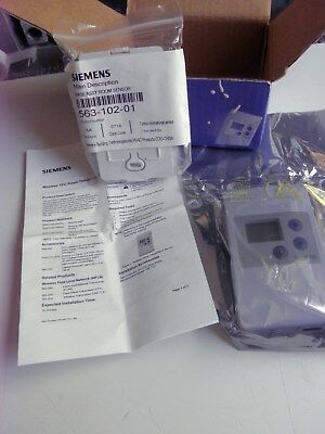 Siemens Qaa2290.fwsc Wireless Thermostat Sensor White *factory Sealed Pkg*