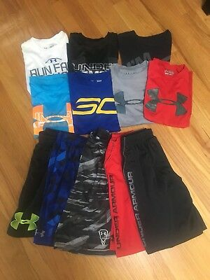 Boys Under Armour YSM (small) Lot