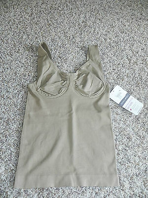 Fashion Bug Cami Small Nude Wire Free Seamless Shaping Camisole NWOT