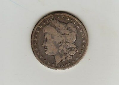 1896 'O' US Morgan dollar