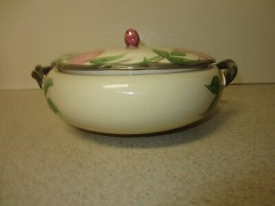 Franciscan DESERT ROSE  8 inch  CASSEROLE  with cover  ENGLAND