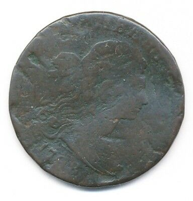 1798 Draped Bust Large One Cent Penny Exact Coin Shown - Free Shipping