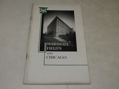 % Vintage Souvenir Marshall Field's And Chicago Pictorial History Advertising %