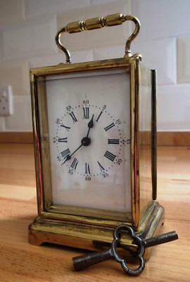 Old Brass Carriage Clock