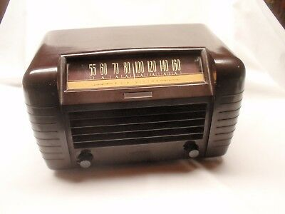 Vintage 1947 RCA Victor Radio Model 65X1 - Working (Local Pick Up Only) !