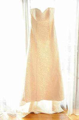 NWT Wendy Makin Bridal Designs 'Ellie G' Ivory Wedding Dress (Size 14-16)