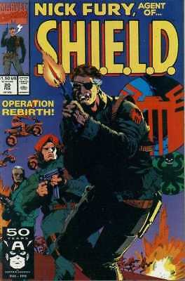Nick Fury: Agent of SHIELD (1989 series) #20 in Near Mint + condition