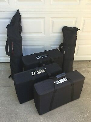Calumet / Bowens Complete Strobe Lighting System, Excellent Condition