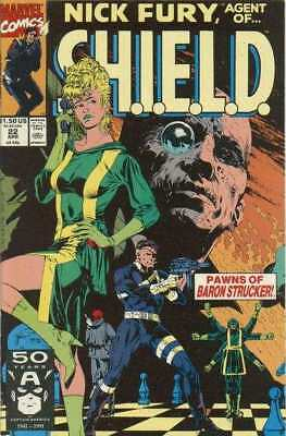 Nick Fury: Agent of SHIELD (1989 series) #22 in Near Mint + condition