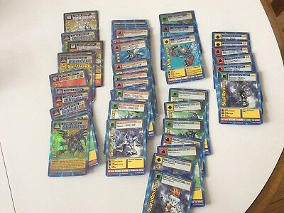 digimon cards.....all different levels