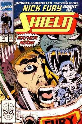 Nick Fury: Agent of SHIELD (1989 series) #18 in Near Mint + condition