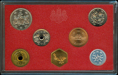 1987 Japan Six Coin Mint Set