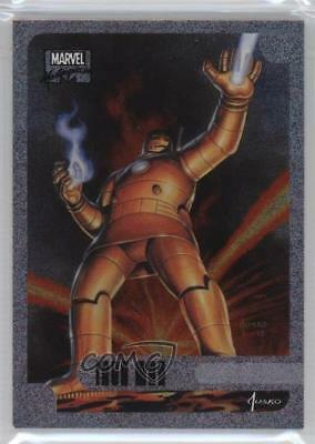 2016 Upper Deck Marvel Masterpieces Holofoil #5 Iron Man Non-Sports Card 0p3