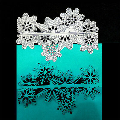 2pcs Snow mountain Design Metal Cutting Dies for DIY Scrapbooking Album CardsFE