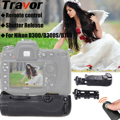 Travor Battery Grip Pack Holder For Nikon D300 D300S D700 Camera as MB-D10