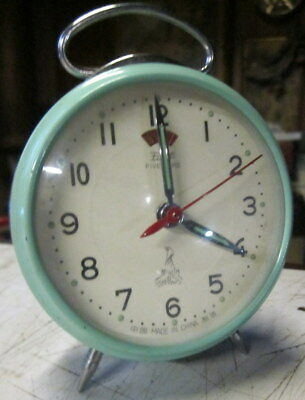 collectors wind up , tin body , FIVE RAMS - China bed side alarm clock