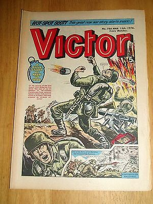 Canadian Expeditionary Force In France Ww2 Cover Story In Victor Comic 13/3/1976