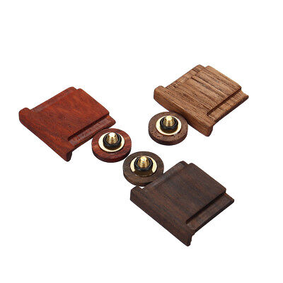 3 Types Wood Shutter Button +Camera Hot Shoe Cover For Fuji X-Series UK*