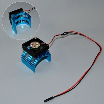 Heatsink & Cooling Fan Aluminum for 540 545 550 555 Size Motor - Expands to 1/8