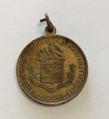 1920 Prince Of Wales Visit to Gawler South Australia Medal Medallion