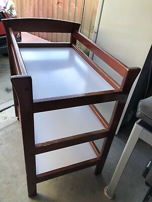 Love N Care Timber Changing Table