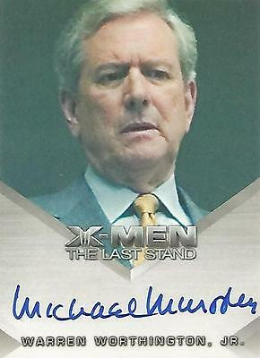 "X-Men 3 The Last Stand - Michael Murphy ""Warren Worthington Jr"" Autograph Card"