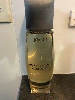 Factice Joop What About Adam Dummy Perfume Bottle Limited Edition Large Bottle
