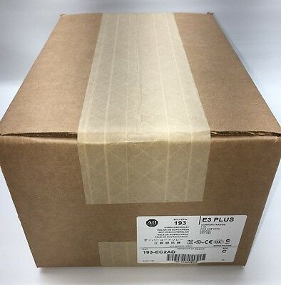 New Sealed Allen-Bradley 193-EC2AD Bulletin Electronic Motor Protect Relay E3