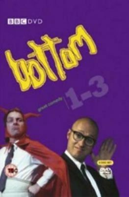 Bottom Season 1+2+3 TV Series (Rik Mayall) 3xDVDs R4 Complete Collection