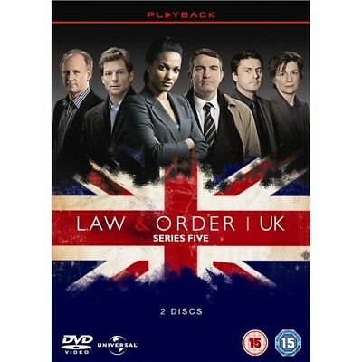 Law & Order UK Complete Season 5 TV Series Region 4 New DVD Law and Order