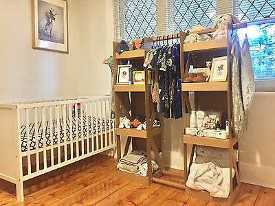 KIDS & BABY WARDROBE CLOTHING RACK / WARDROBE INSERT Cardboard Jungle CARDROBE