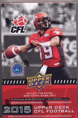 2015 Upper Deck CFL Football Set Base Rookies All-Stars 1-200