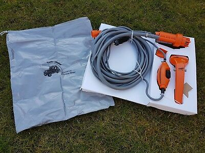 12v Electric Portable Camping Shower with Storage bag -boat caravan festival car